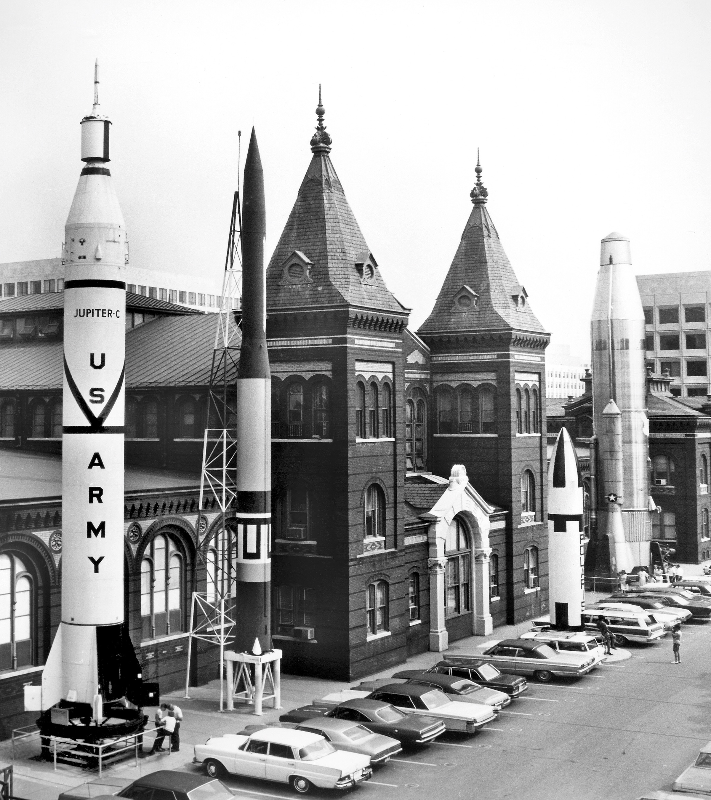 Arts and Industries Building Rocket Row