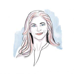 Rachel Goslins Headshot Portrait