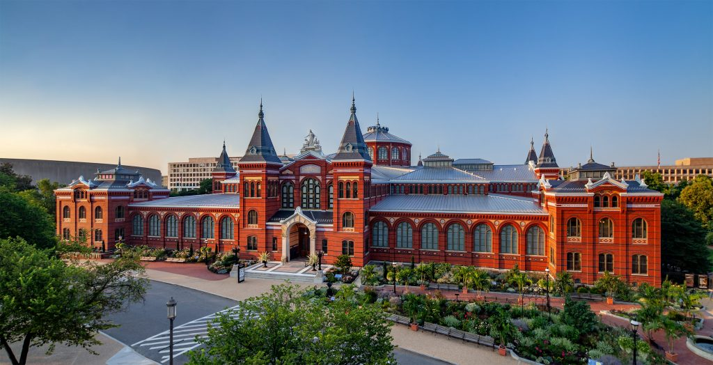 Arts and Industries Building on national mall