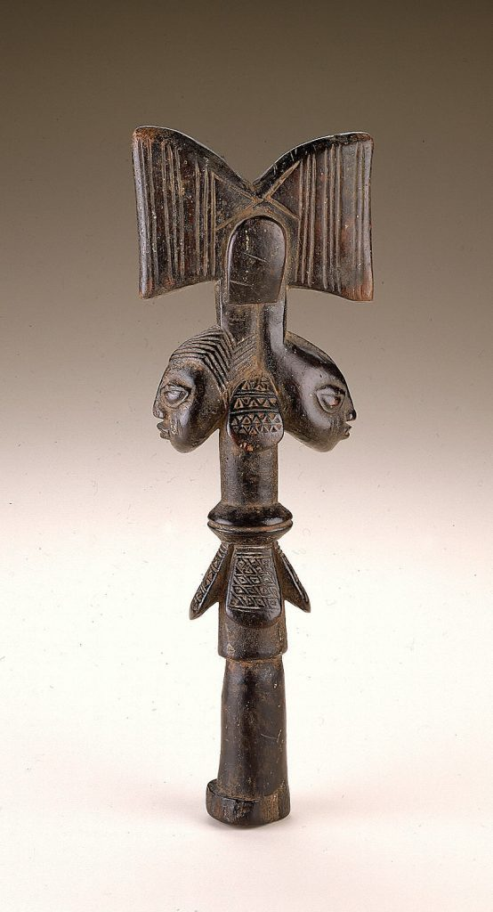 Yoruba diviner's staff