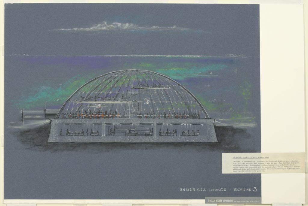 Undersea lounge