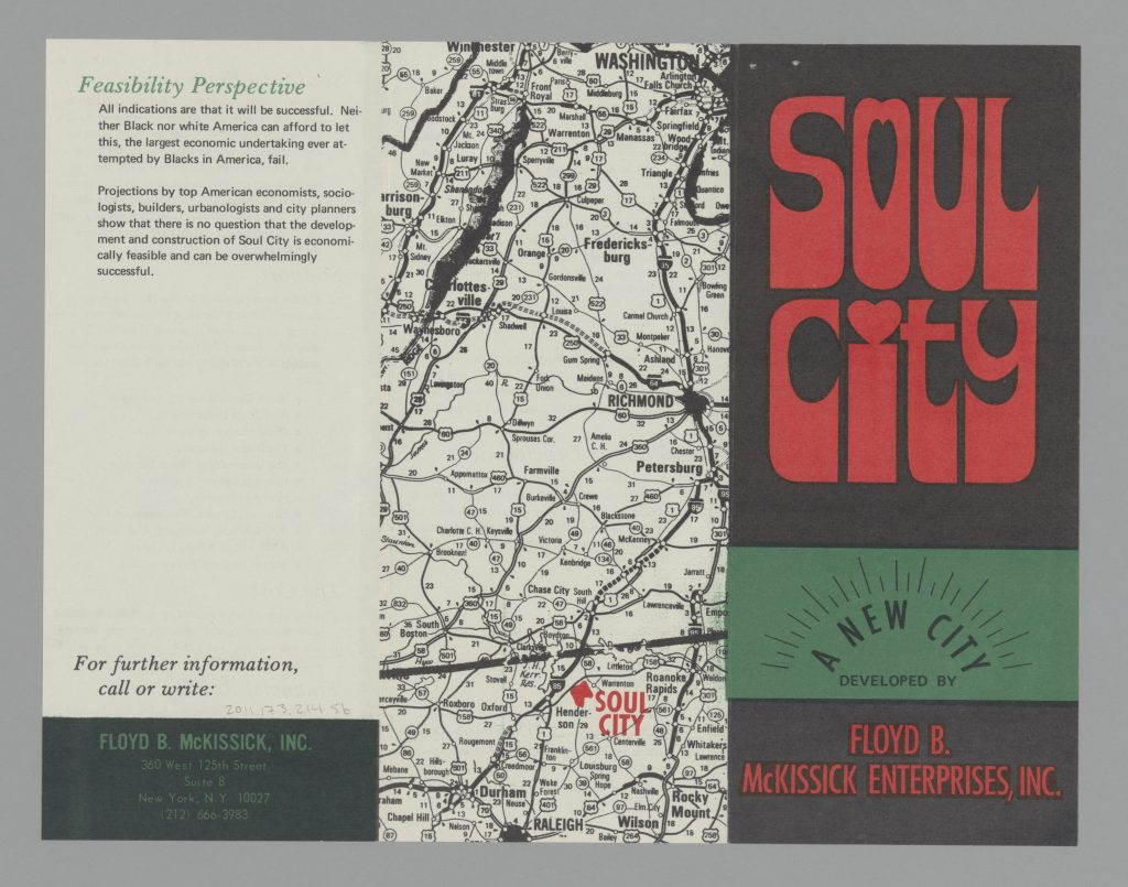 Soul City pamphlet