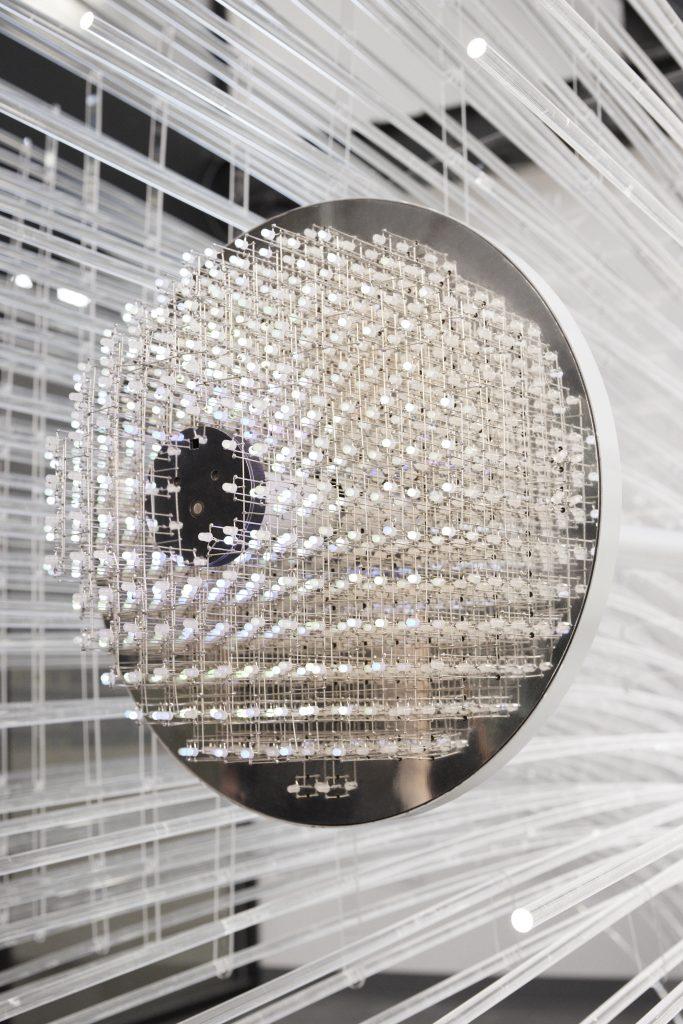 light sculpture rendering