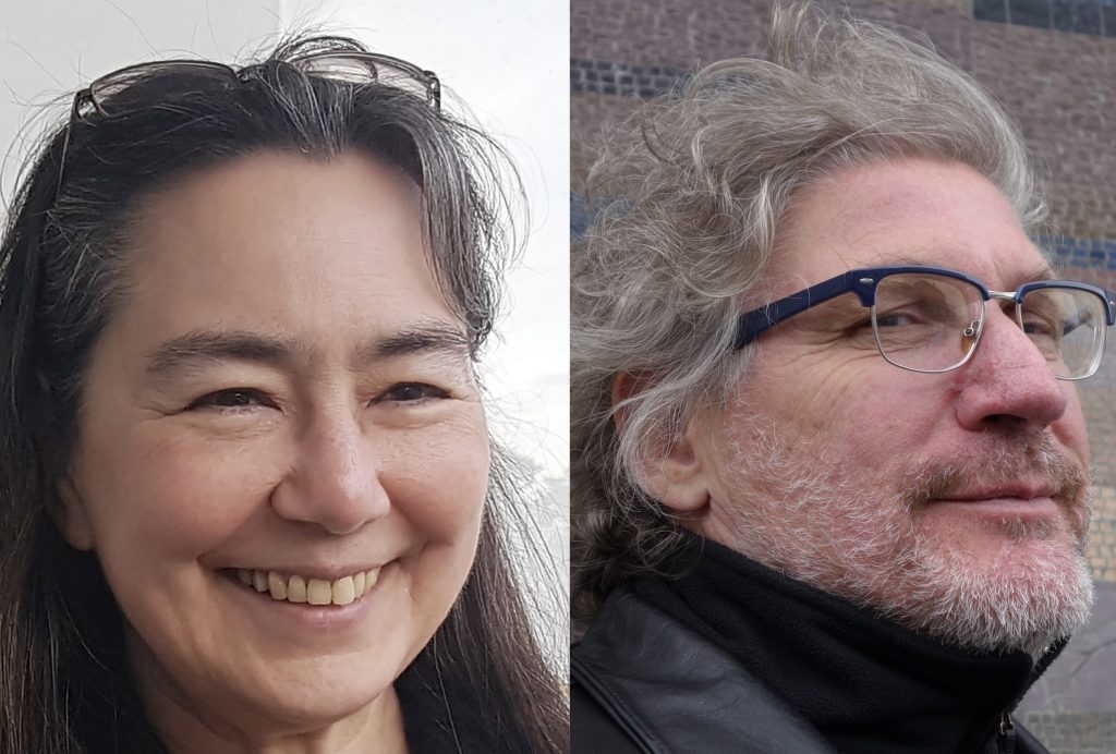 Tamiko Thiel and Peter Graf headshot