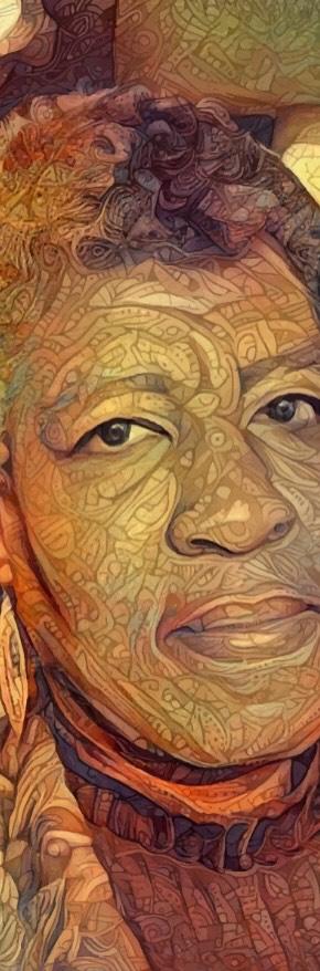 Octavia Butler Portrait