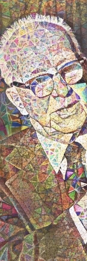 Buckminster Fuller Portrait