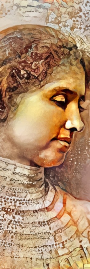 Helen Keller Portrait